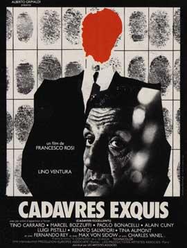Cadaveri eccellenti - 11 x 17 Movie Poster - French Style A