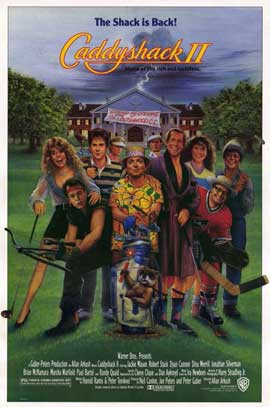 Caddyshack 2 - 11 x 17 Movie Poster - Style A