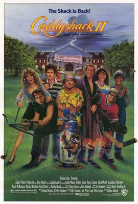 Caddyshack 2 - 27 x 40 Movie Poster - Style A