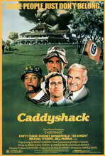 """Caddyshack"" Movie Poster"