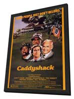 Caddyshack - 24 x 36 Movie Poster - Style A - in Deluxe Wood Frame