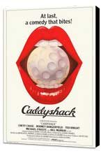 Caddyshack - 27 x 40 Movie Poster - Style B - Museum Wrapped Canvas