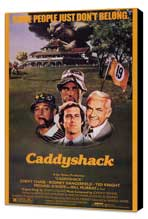 Caddyshack - 24 x 36 Movie Poster - Style A - Museum Wrapped Canvas