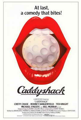 Caddyshack - 27 x 40 Movie Poster - Style B