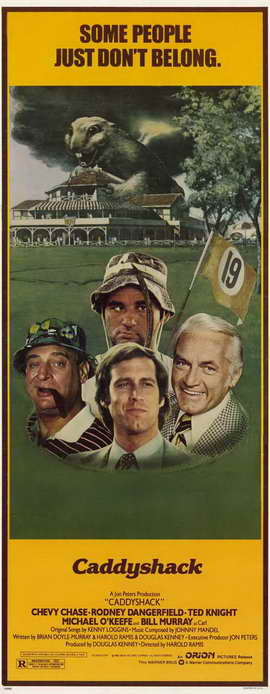 Caddyshack - 14 x 36 Movie Poster - Insert Style A