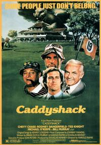 Caddyshack - 43 x 62 Movie Poster - Bus Shelter Style A
