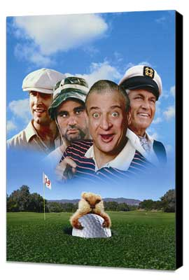 Caddyshack - 27 x 40 Movie Poster - Style C - Museum Wrapped Canvas