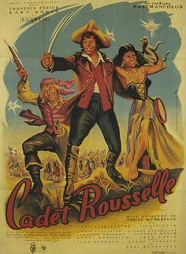 Cadet Rousselle - 11 x 17 Movie Poster - French Style A