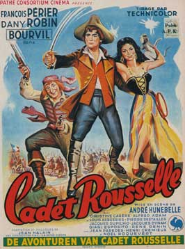 Cadet Rousselle - 11 x 17 Movie Poster - Belgian Style A