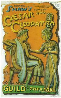 Caesar And Cleopatra (Broadway) - 11 x 17 Poster - Style A
