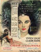 Caesar and Cleopatra - 11 x 17 Movie Poster - Style H