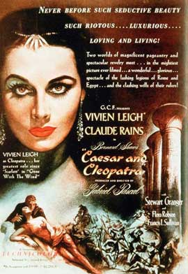 Caesar and Cleopatra - 11 x 17 Movie Poster - Style A