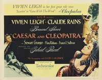 Caesar and Cleopatra - 11 x 17 Movie Poster - Style C