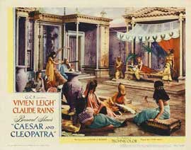 Caesar and Cleopatra - 11 x 17 Movie Poster - Style D