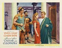 Caesar and Cleopatra - 11 x 17 Movie Poster - Style F