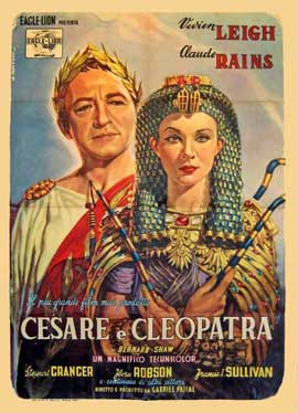 Caesar and Cleopatra - 11 x 17 Movie Poster - French Style A