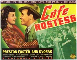 Cafe Hostess - 11 x 14 Movie Poster - Style A
