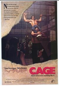 Cage - 11 x 17 Movie Poster - Style A