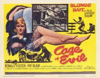 Cage of Evil - 11 x 14 Movie Poster - Style A