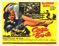 Cage of Evil - 22 x 28 Movie Poster - Half Sheet Style A
