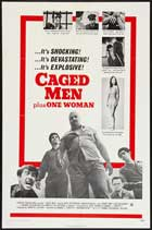 Caged Men Plus One Woman - 11 x 17 Movie Poster - Style A