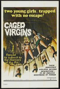 Caged Virgens - 11 x 17 Movie Poster - French Style A