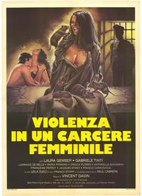 Caged Women - 39 x 55 Movie Poster - Italian Style B