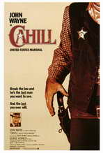 Cahill U.S. Marshal - 27 x 40 Movie Poster - Style A
