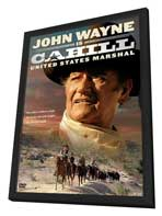 Cahill U.S. Marshal - 11 x 17 Movie Poster - Style B - in Deluxe Wood Frame