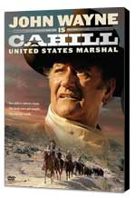 Cahill U.S. Marshal - 11 x 17 Movie Poster - Style B - Museum Wrapped Canvas