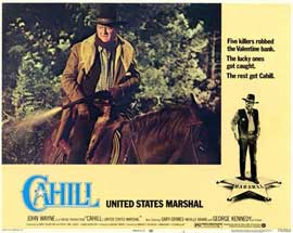 Cahill U.S. Marshal - 11 x 14 Movie Poster - Style A