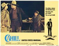 Cahill U.S. Marshal - 11 x 14 Movie Poster - Style D