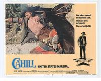 Cahill U.S. Marshal - 11 x 14 Movie Poster - Style E