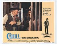 Cahill U.S. Marshal - 11 x 14 Movie Poster - Style G