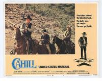 Cahill U.S. Marshal - 11 x 14 Movie Poster - Style H