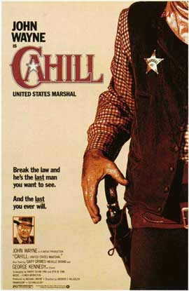Cahill U.S. Marshal - 11 x 17 Movie Poster - Style A