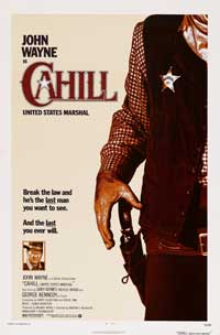 Cahill U.S. Marshal - 43 x 62 Movie Poster - Bus Shelter Style A