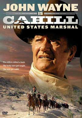 Cahill U.S. Marshal - 27 x 40 Movie Poster - Style B