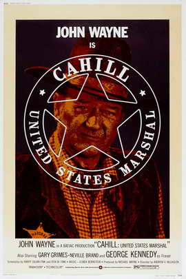 Cahill U.S. Marshal - 11 x 17 Movie Poster - Style C