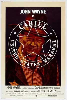Cahill U.S. Marshal - 27 x 40 Movie Poster - Style C