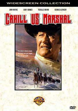 Cahill U.S. Marshal - 11 x 17 Movie Poster - Style D