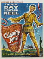 Calamity Jane - 11 x 17 Movie Poster - Style C