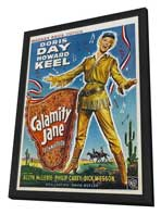 Calamity Jane - 11 x 17 Movie Poster - Style C - in Deluxe Wood Frame
