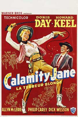 Calamity Jane - 27 x 40 Movie Poster - Belgian Style A