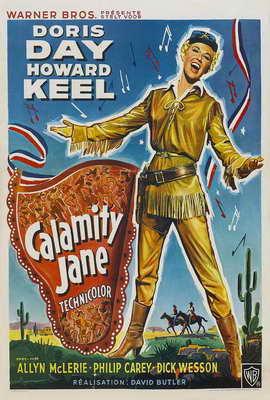 Calamity Jane - 27 x 40 Movie Poster - Style C
