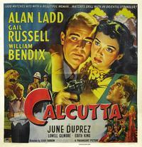 Calcutta - 27 x 40 Movie Poster - Style D