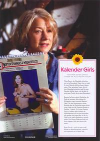 Calendar Girls - 11 x 14 Poster German Style C