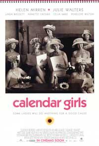 Calendar Girls - 11 x 17 Movie Poster - Style B