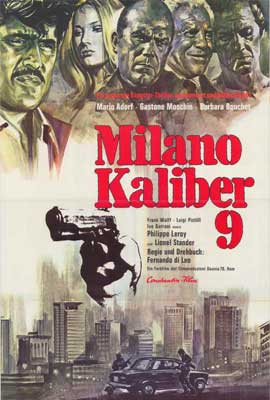 Caliber 9 - 27 x 40 Movie Poster - German Style A