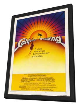 California Dreaming - 27 x 40 Movie Poster - Style A - in Deluxe Wood Frame